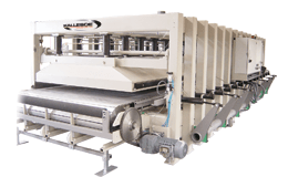 Używania linia maszyn Kallesoe KL20 + LV1330